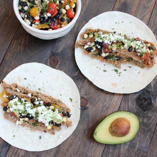 Fresh Vegetarian Taco Recipe