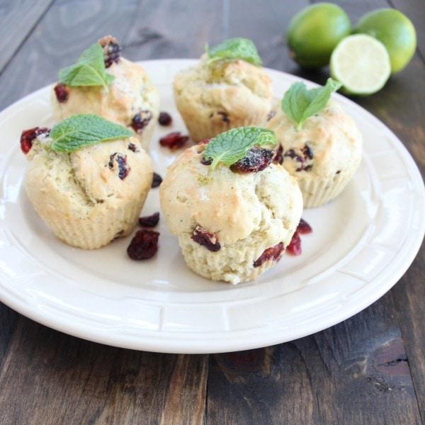 Cranberry Mojito Muffin Recipe