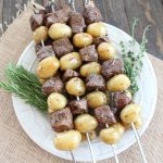 Rosemary Steak Skewers
