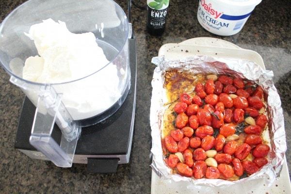 Roasted Tomato Dip Recipe