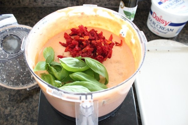 Sun Dried Tomato Basil Dip Recipe