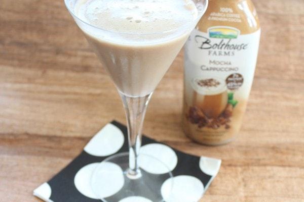 Bolthouse Farms Mocha Cappuccino and Vodka Martini