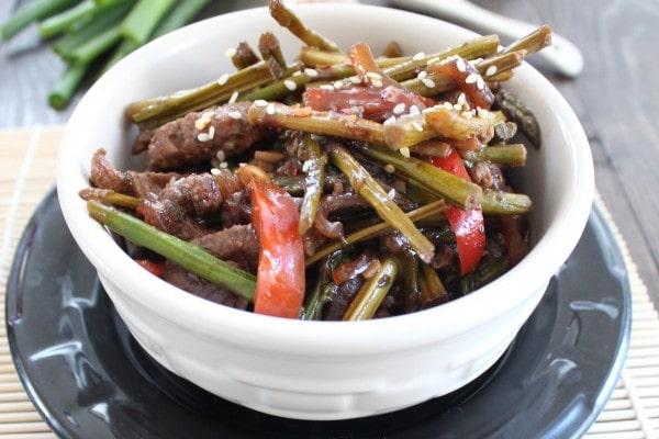 Asparagus Beef Stir Fry Recipe