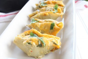 Mexican Beef and Cheese Stuffed Shells