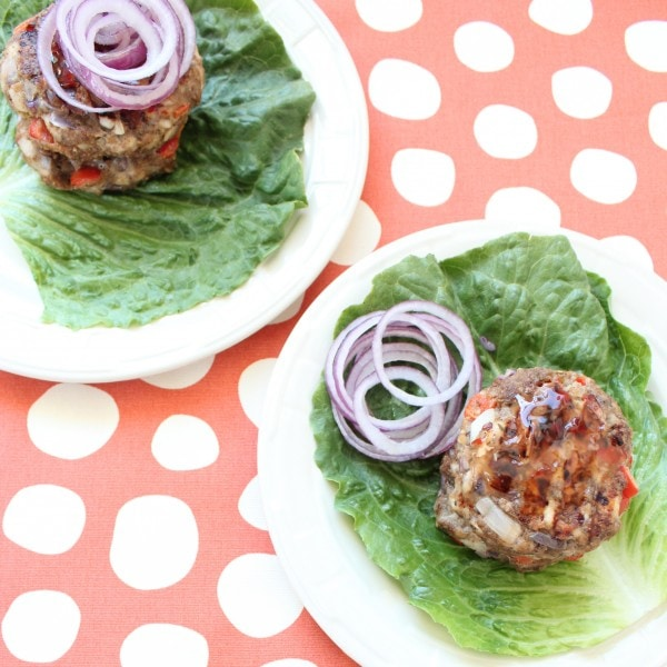 Jerk Chicken Burgers