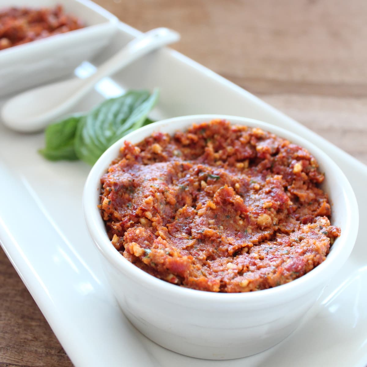 Sun Dried Tomato Pesto is delicious on pizzas, pastas, sandwiches or ...
