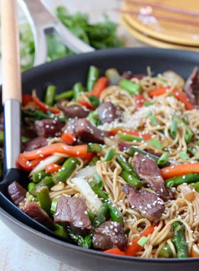 Easy Beef Stir Fry Recipe With The Most Tender Beef Whitneybond Com