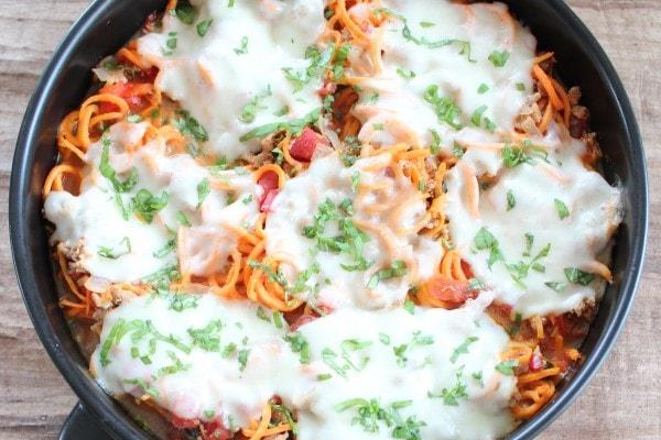 Italian Turkey Sweet Potato Casserole