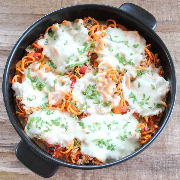 Italian Turkey Sweet Potato Casserole