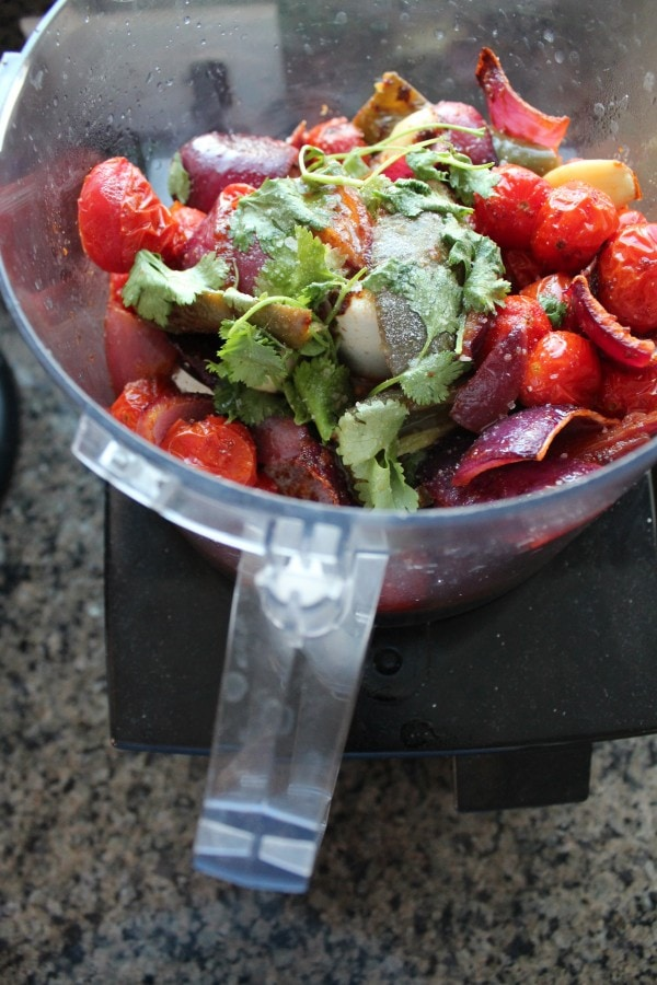 Roasted Tomato Salsa Recipe