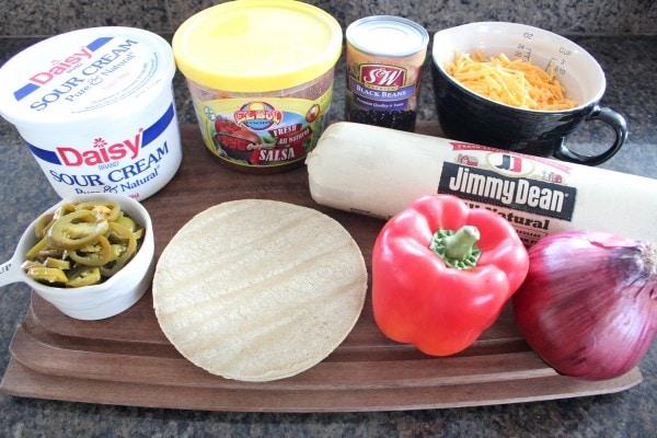 Nacho Casserole Ingredients