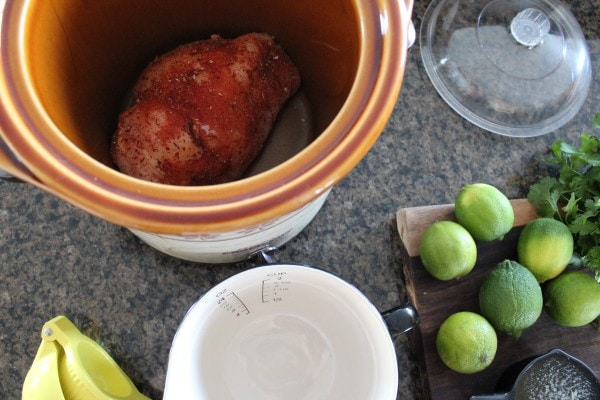 Cilantro Lime Crock Pot Chicken