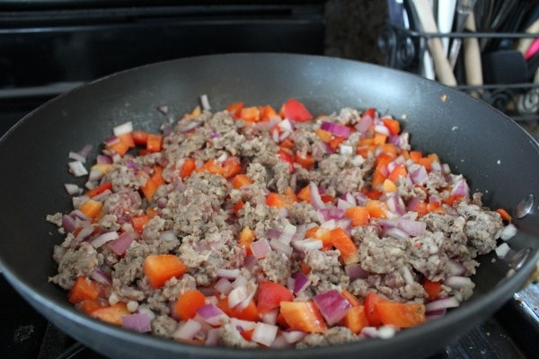 Sausage Nacho Casserole Recipe