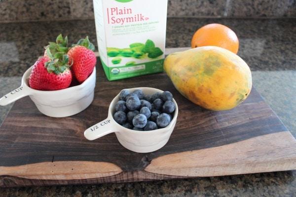 Fruit Smoothie Ingredients