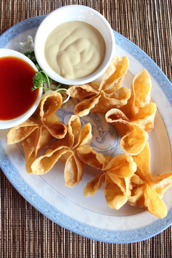 Chinese Restaurant Crab Wontons