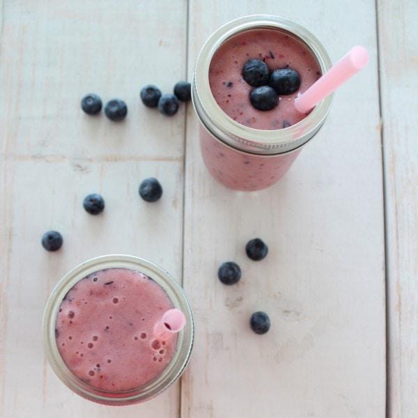 Blueberry Fruit Smoothie
