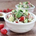 Avocado Jicama Salad