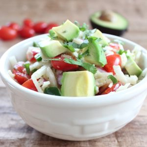 Spiralized Jicama & Avocado Salad