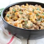 Sausage Jalapeño Macaroni and Cheese
