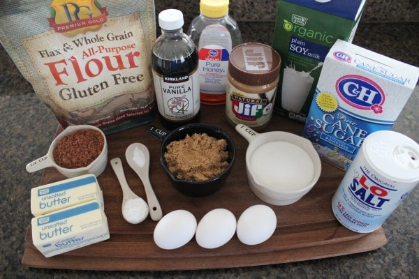 Peanut Butter Chocolate Cupcake Ingredients