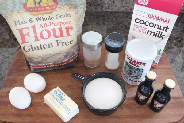 Irish Cream Chocolate Glazed Donut Ingredients