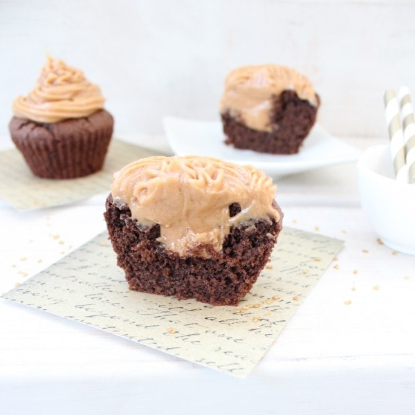Reese's Cup Cupcakes