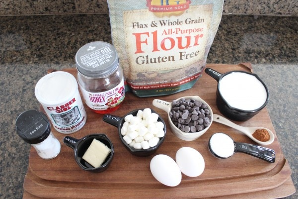 Gluten Free Smores Waffles Ingredients
