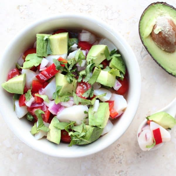 Avocado Scallop Ceviche