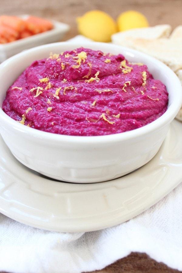 Healthy Beet Hummus