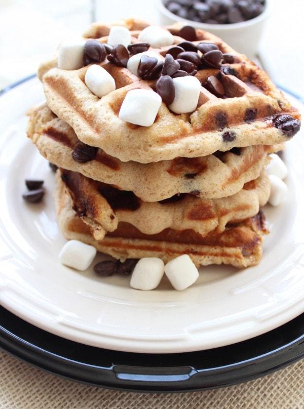 Smores Waffles