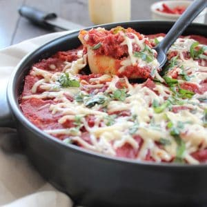 Mediterranean Stuffed Shells