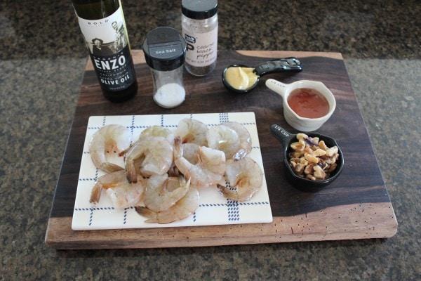 Honey Walnut Shrimp Ingredients