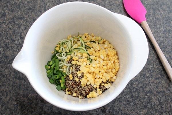 Zucchini Quinoa Burgers Recipe