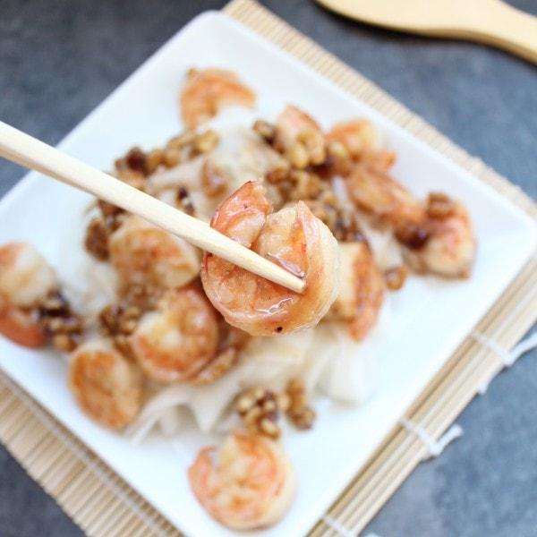 Honey Dijon Shrimp