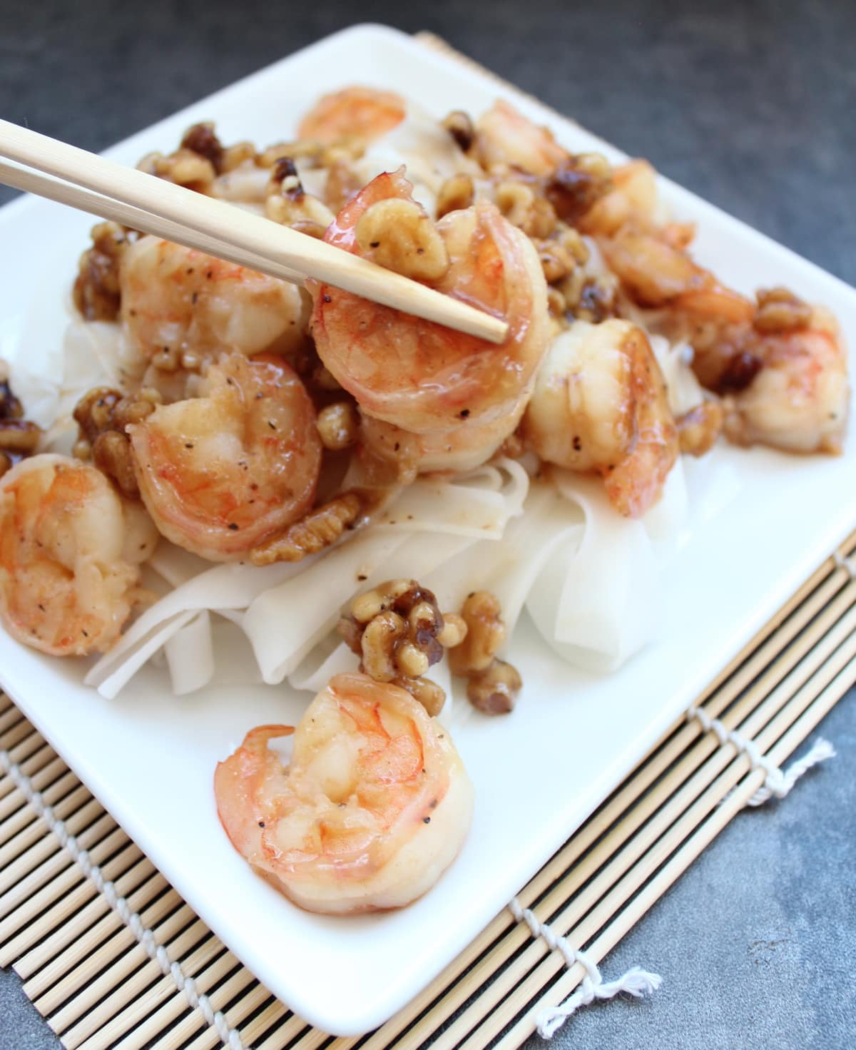 The Chinese restaurant favorite, Honey Walnut Shrimp, is made ...