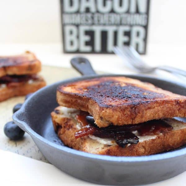 Candied Bacon Grilled Cheese Sandwich