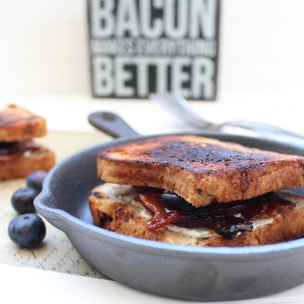 Gluten Free Bacon Grilled Cheese