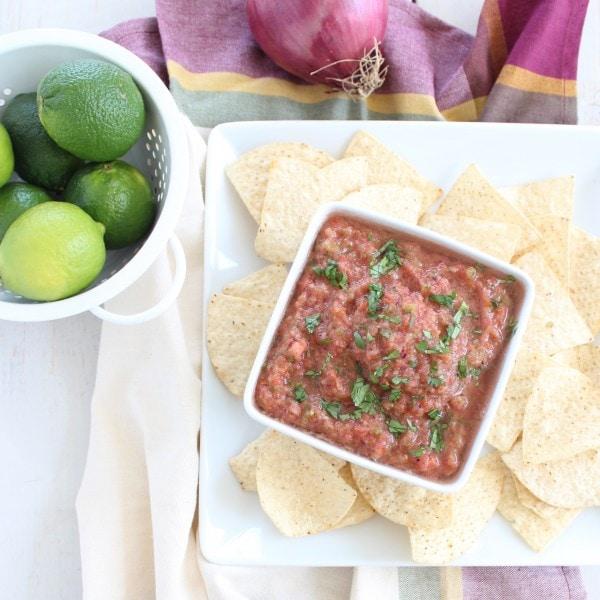 5 Minute Homemade Salsa