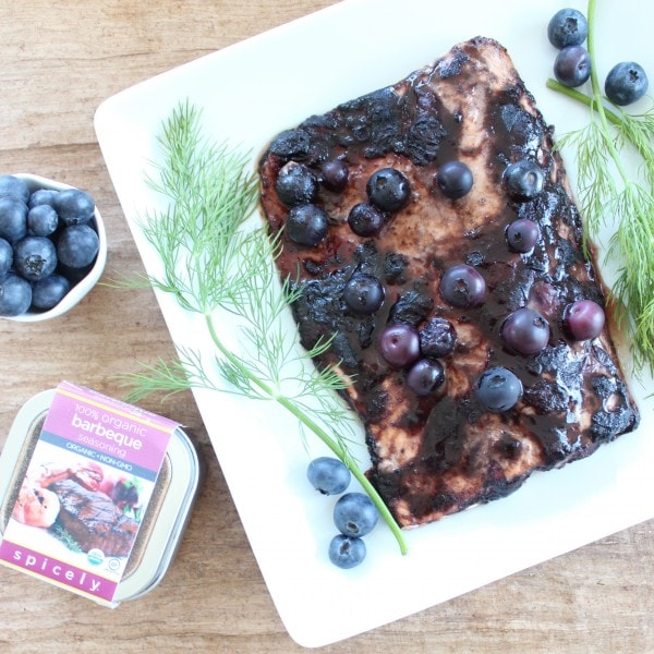 Spicely Organics BBQ Seasoned Salmon
