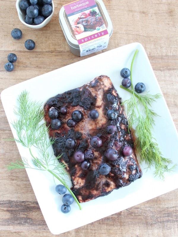 Spicely Organics Barbeque Seasoned Salmon