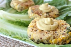 Vegan Zucchini Quinoa Burgers