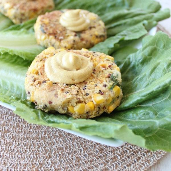 Zucchini Quinoa Burgers - Little Leopard Book