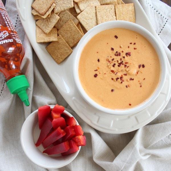 Sriracha Hummus Dip