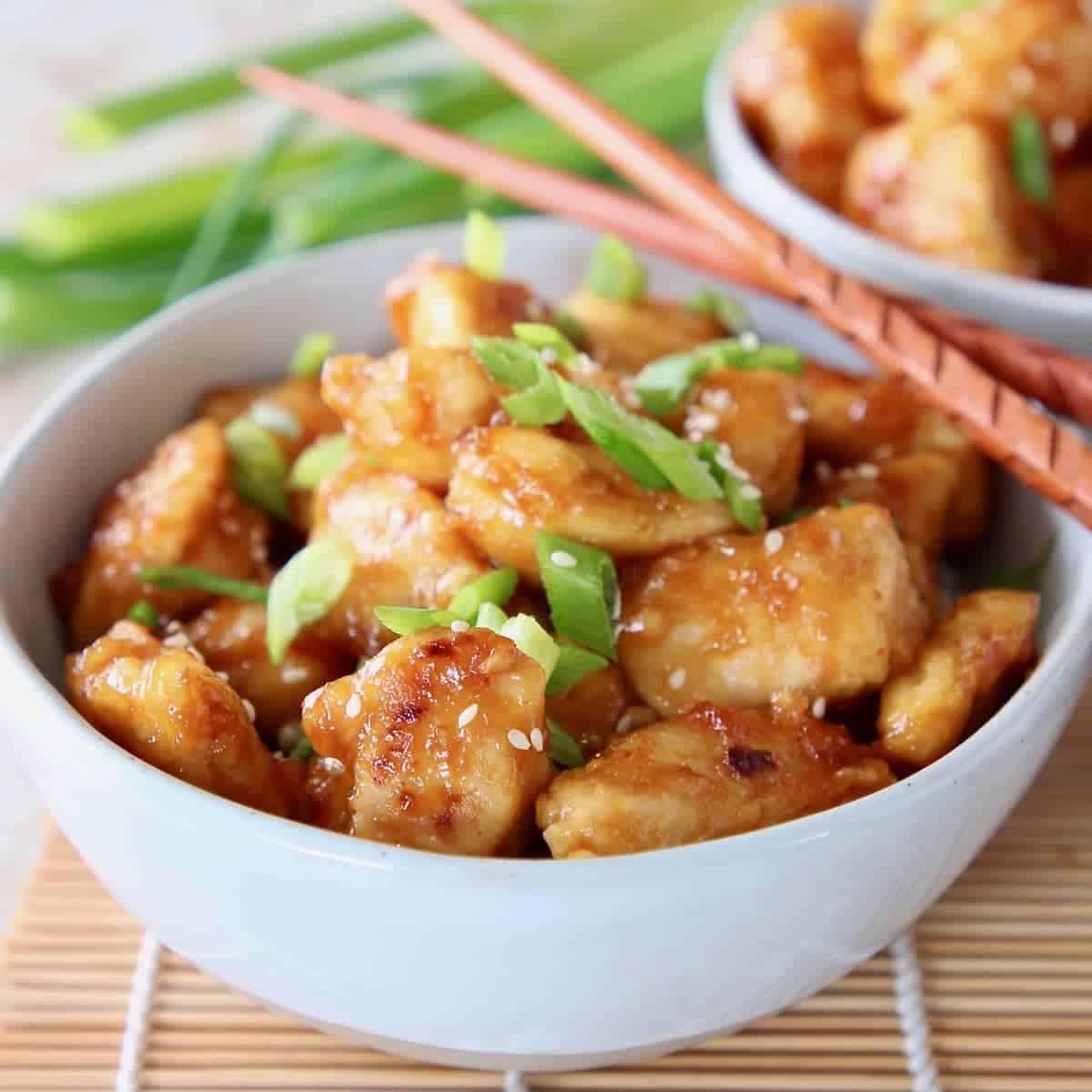 Free Recipes For Chicken: Gluten Free Orange Chicken Recipe