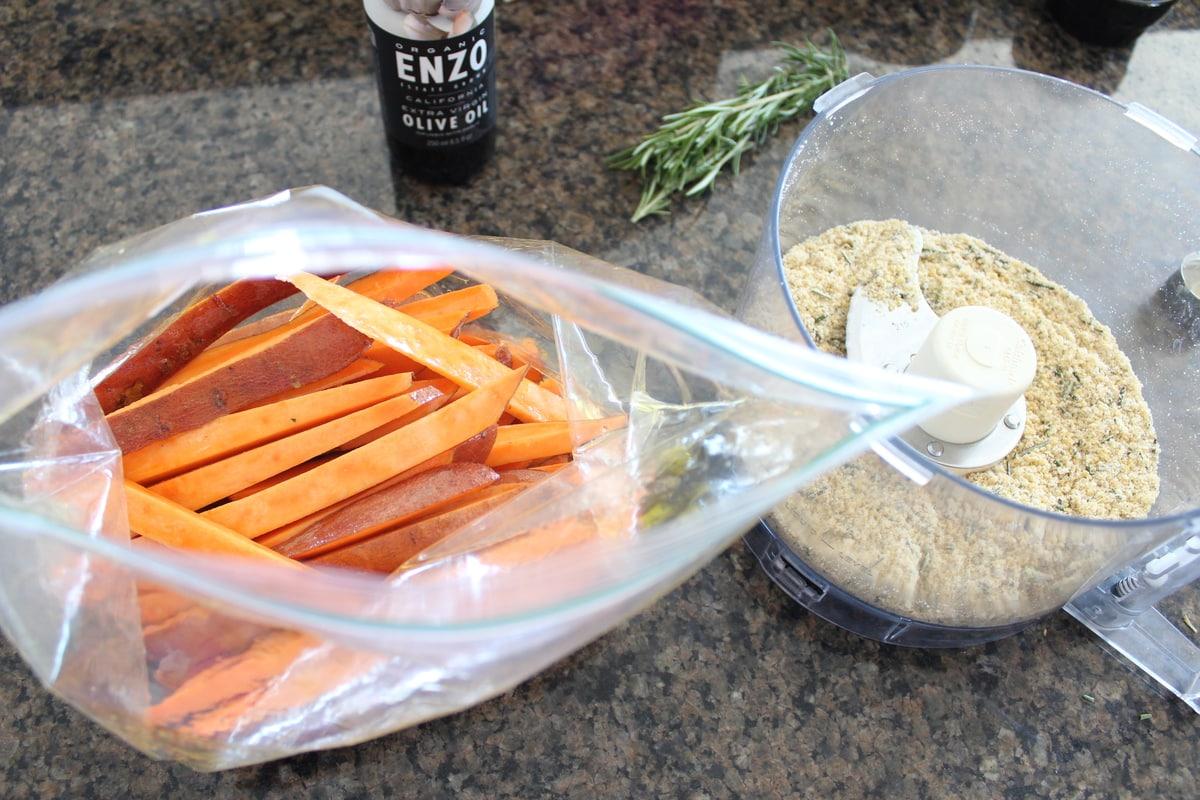 Crispy Sweet Potato Fries Recipe