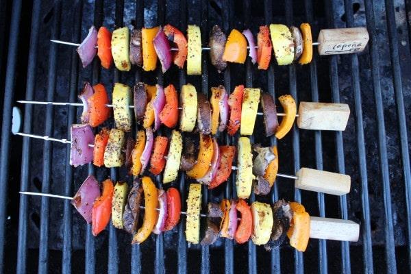 Grilled Vegetable Skewers Recipe