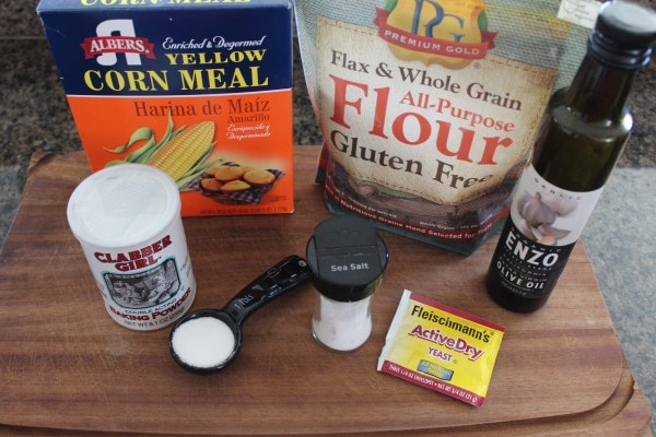 Gluten Free Pizza Dough Ingredients
