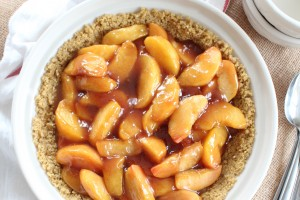 Gluten Free No Bake Peach Pie Recipe