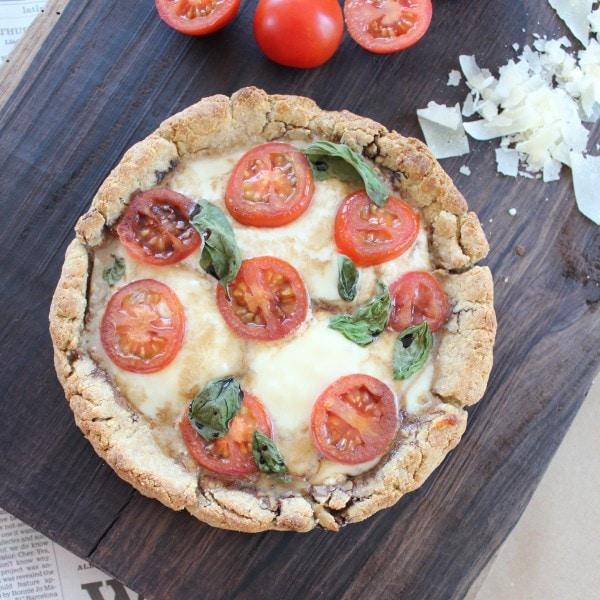 Gluten Free Three Cheese Pizza