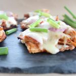 Gluten Free Grilled BBQ Chicken Flatbread